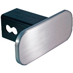 "All Sales Billet 2.5"" X 3"" Plain Rectangular Hitch Plug"