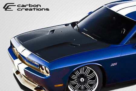 Carbon Creations OEM Style Hood 08-up Dodge Challenger