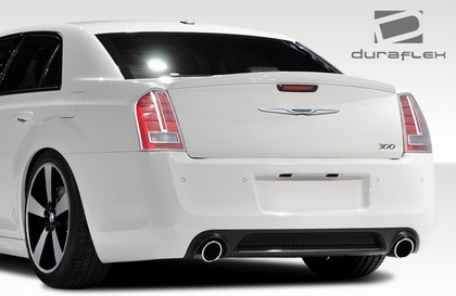 Duraflex SRT Rear Bumper Cover 11-16 Chrysler 300-300C