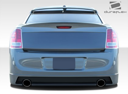 Duraflex Brizio Rear Bumper Cover 11-16 Chrysler 300-300C