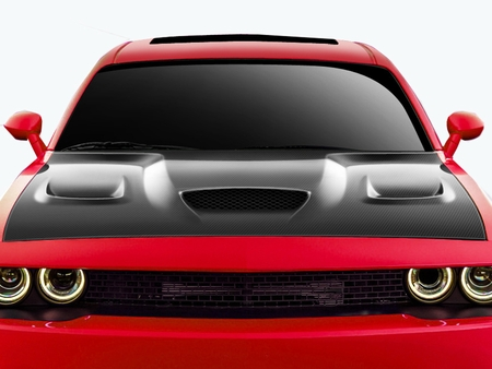 Carbon Creations Hellcat Style Hood 08-up Dodge Challenger