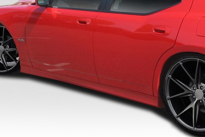 Duraflex Hellcat Side Skirts 05-10 Charger, Magnum, 300