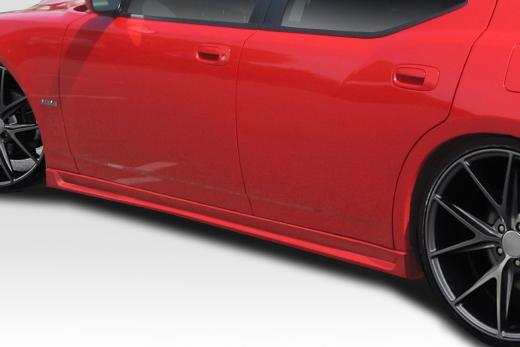 Duraflex Markham Side Skirts 05-10 Charger, Magnum, 300