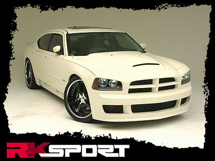 RK Sport Ram Air Style Hood 06-10 Dodge Charger