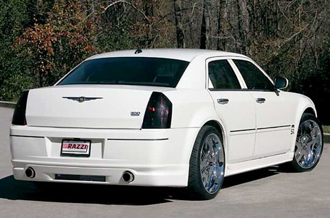 Razzi ABS Rear Lip 05-10 Chrysler 300/300C