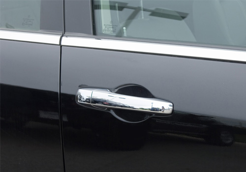 Putco Chrome Door Handle Covers No Key Hole 05-10 Chrysler 300