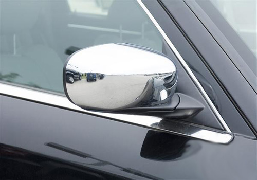 Putco Chrome Mirror Covers 05-10 Charger, Magnum, Chrysler 300