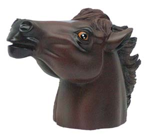 CIPA Horse Head Hitch Ball Cover