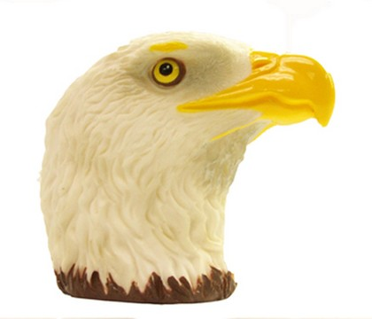 CIPA Bald Eagle Head Hitch Ball Cover