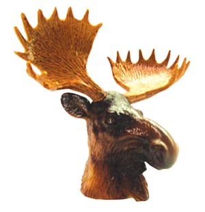 CIPA Moose Head Hitch Ball Cover