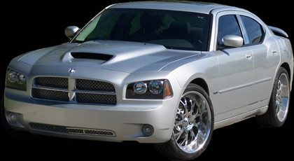 APM Ram Air Style Hood 06-10 Dodge Charger