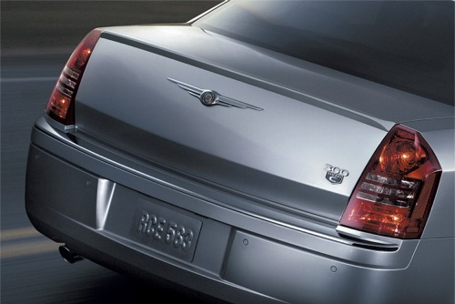 Mopar SRT8 Deck Lid Spoiler Pre-primered 05-10 Chrysler 300