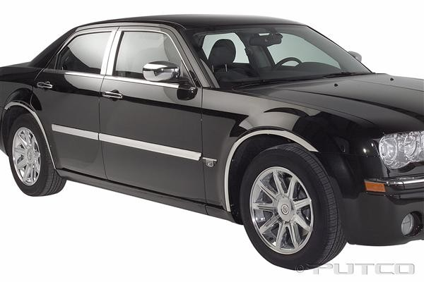 Putco Billet Aluminum Body Side Molding 05-10 Chrysler 300