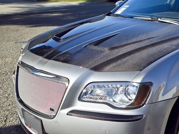 Carbon Fiber Extractor Air Hood 11-18 Chrysler 300/300C