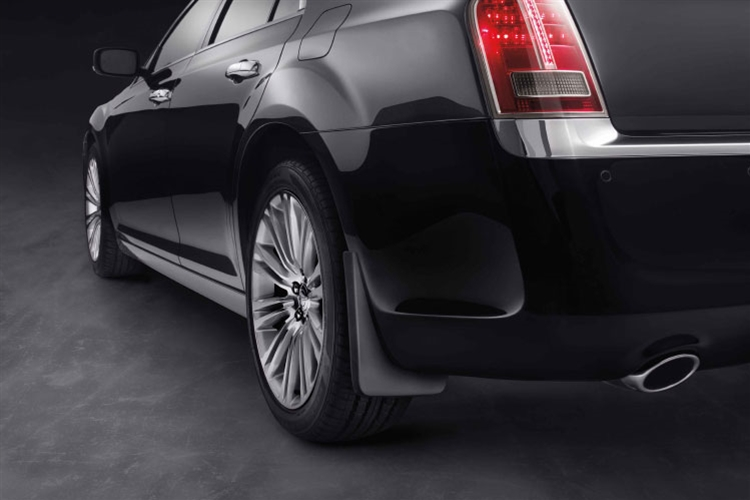 Mopar Rear Deluxe Molded Splash Guards 2011-up Chrysler 300