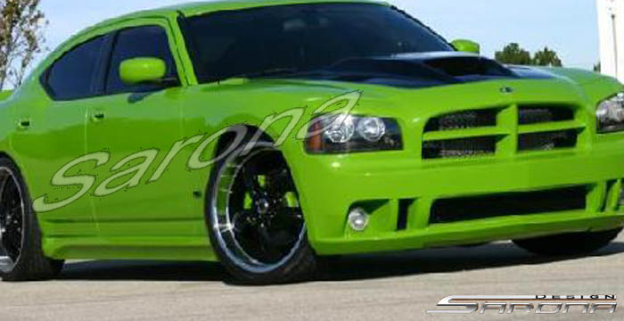 Sarona Fiberglass Side Skirts 05-10 Charger, Magnum,Chrysler 300