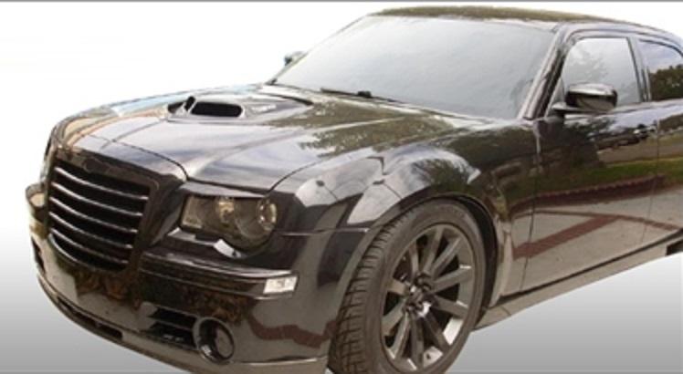 Chrysler 300 Hood, Chrysler 300 SRT8 Style Hood, Chrysler 300 Cowl
