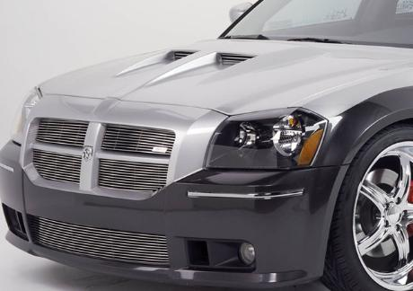 Good Hood Twin-Scoop Ram Air Hood 05-08 Dodge Magnum