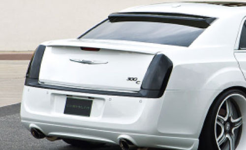 GT Styling Carbon Fiber Tail Light Covers 11-14 Chrysler 300