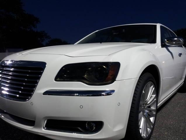 Custom Precut Smoke Headlight Tint Film 11-18 Chrysler 300