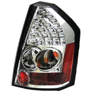 IPCW Crystal Clear LED Tail Light Set 08-10 Chrysler 300