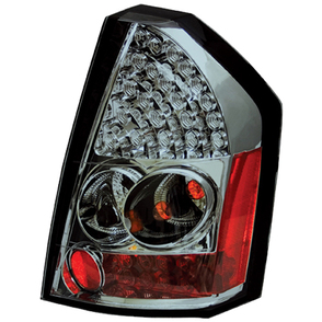 IPCW Platinum Smoke LED Tail Light Set 05-07 Chrysler 300