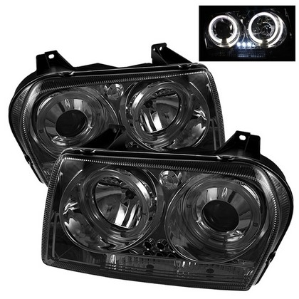 Spyder Projector Smoke Headlights 05-08 Chrysler 300