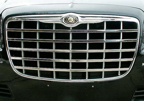 Quality Auto Stainless Steel Grille 05-10 Chrysler 300