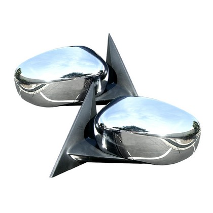 Chrome Mirror Covers 06-10 Charger, 05-08 Magnum, 05-10 300