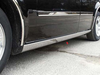 QAA Polished Stainless Rocker Panel Molding 05-10 Chrysler 300