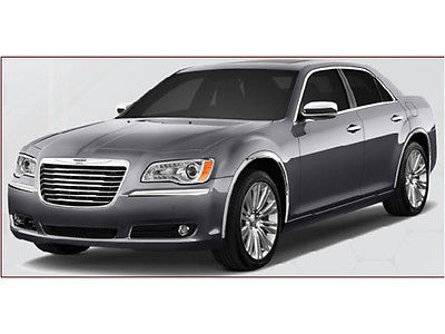 QAA Stainless Steel Fender Trim 11-18 Chrysler 300