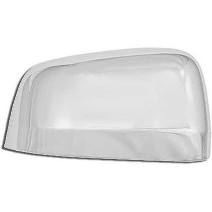 Top Half Chrome Mirror Covers 11-up Durango, Grand Cherokee