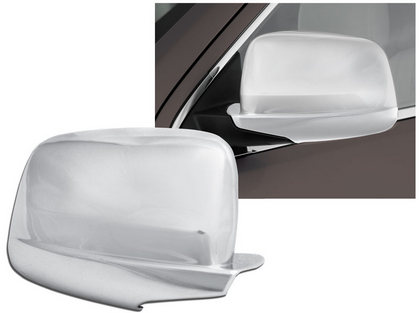 Full Chrome Mirror Covers 11-up Durango, Grand Cherokee