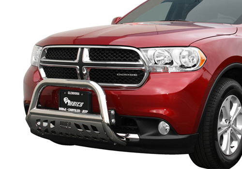 Aries Off-Road Polished Stainless Bull Bar 11-up Dodge Durango