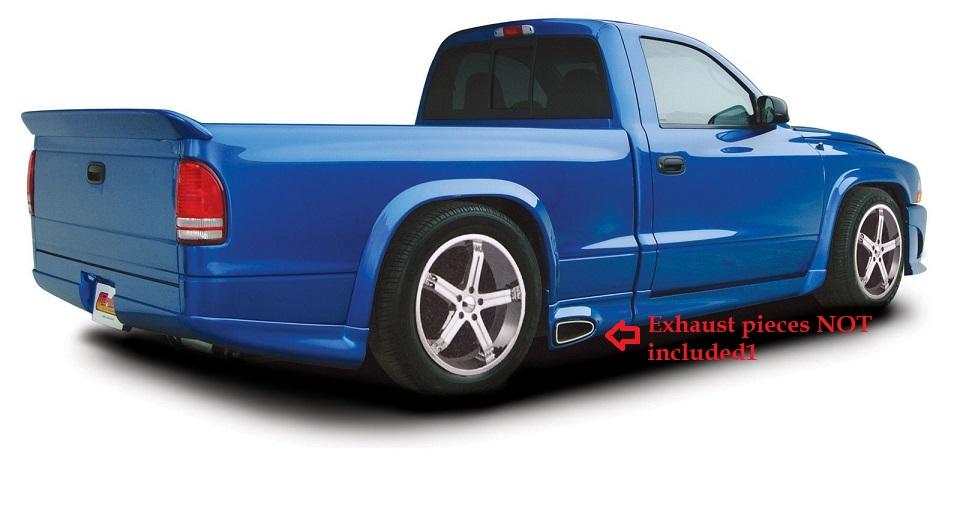 """Street Edge 97-04 Dodge Dakota 4/"""" Rear Hanger Kit"""