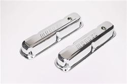 Tall Chrome Steel Valve Covers Mopar LA V8 5.2L, 5.9L