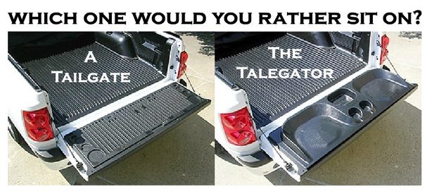 "The Black TALEGATOR Tailgate Seat 20"" x 60"""
