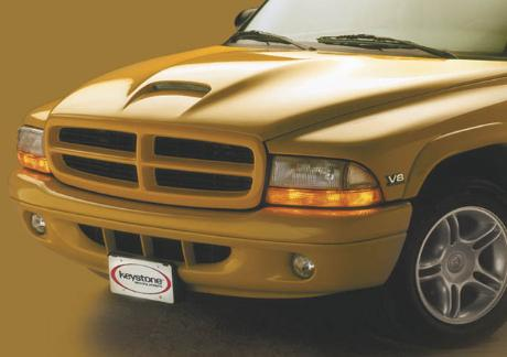 Good Hood Single Scoop Hood 97-04 Dakota, 98-03 Durango 5.2,5.9L