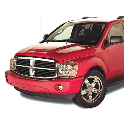 Good Hood Twin Scoop Hood 04-09 Dodge Durango Hemi