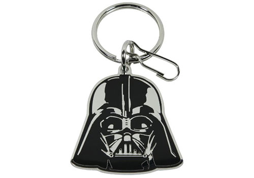 Plasticolor Star Wars Darth Vader Logo Enamel Key Chain