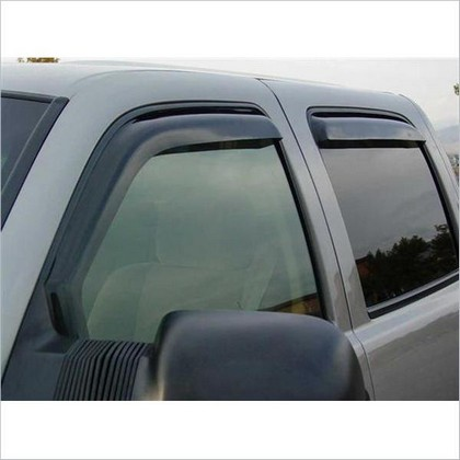 Wade Smoke InChannel Side Window Deflectors 04-09 Durango, Aspen