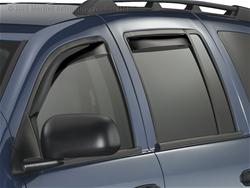 Weathertech Dk Smoke Side Window Deflectors 04-09 Durango, Aspen