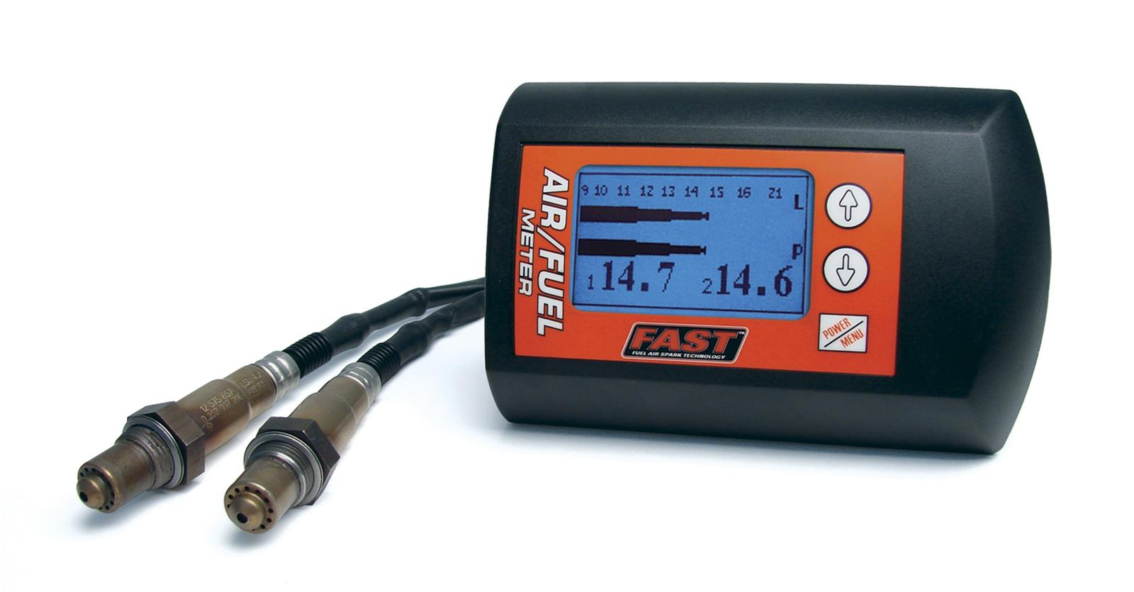 FAST Digital Rectangular Wideband Air/Fuel Dual Sensor Meter Kit