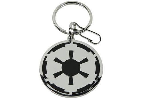 Plasticolor Star Wars Galactic Empire Logo Enamel Key Chain