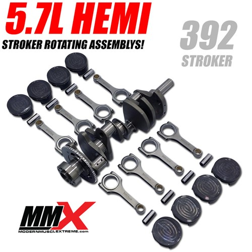 392 HEMI 5.7L Based Forged Stroker Kit 03-up Dodge,Jeep,Chrysler