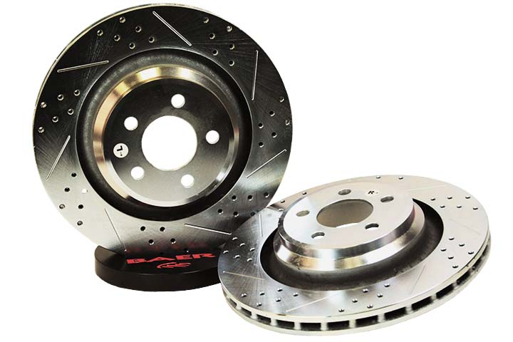 Baer Sport Rear Brake Rotors 06-14 Challenger, LX Cars R/T