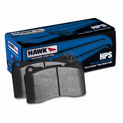 Hawk HPS Front Brake Pads 05-up LX Cars Vented Rotors