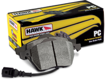 Hawk PC Front Brake Pads 05-up LX Cars Solid Rotors