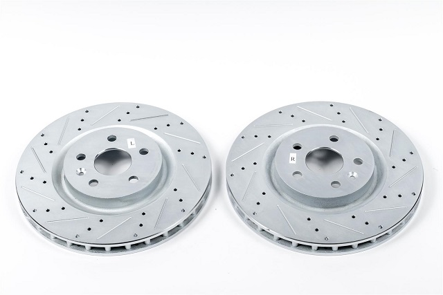Evolution Rear Drilled & Slotted Rotors 05-up LX HD 13.78 Rotor