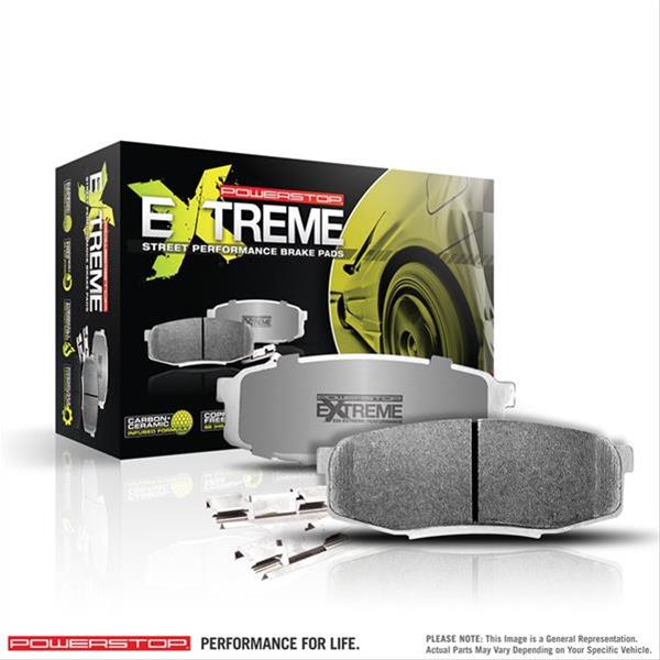 Power Stop Z26 Front Brake Pads 05-up LX Cars SRT-8